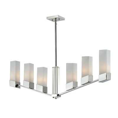 Zen 6-Light Kitchen Pendant Lighting