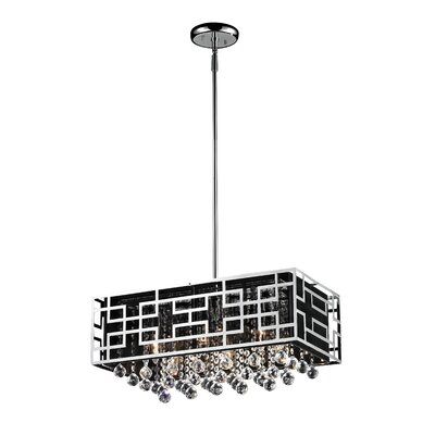 Leanora 6-Light Kitchen Island Pendant Size: 10.50 H x 11 W