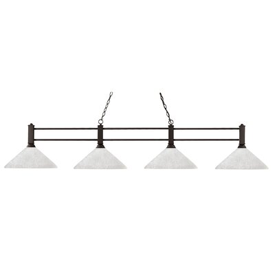 Beeching 4-Light Billiard Light