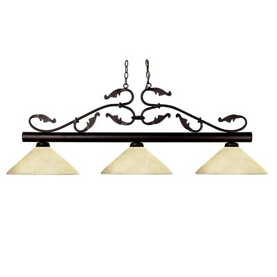 Beechwood 3-Light Billiard Light