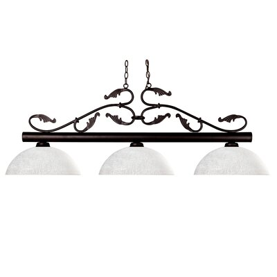 Bourbon 3-Light Billiard Light