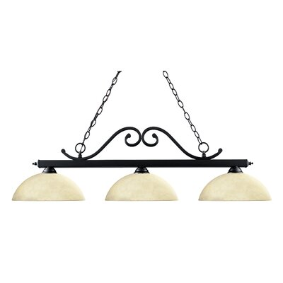 Windsor 3-Light Billiard Light