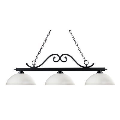 Chaplin 3-Light Billiard Light
