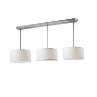 Boese 9-Light Kitchen Pendant Lighting Shade Color: White