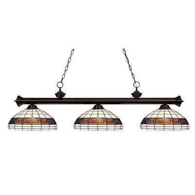 Billington 3-Light Billiard Light