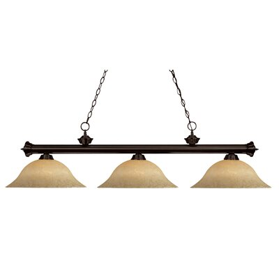 Bessette 3-Light Billiard Light