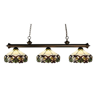 Riviera 3-Light Billiard Light