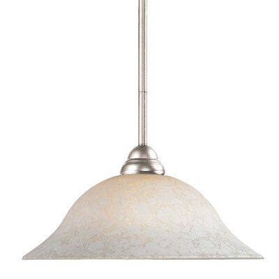 Zephyr Bell Shade 1-Light Billiard Pendant