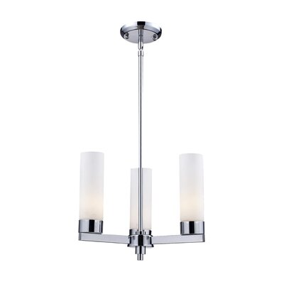 Ibis 5-Light Shaded Chandelier Size: 53 H x 16 W