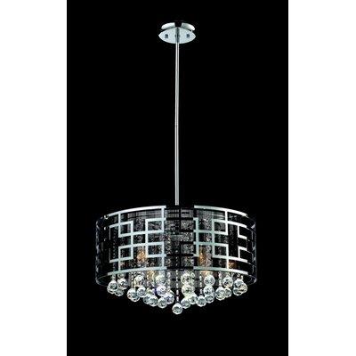 Mirach 6-Light Drum Chandelier Size: 11.5 H x 19 W