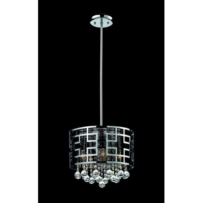 Leanora 6-Light Drum Chandelier Size: 11.5 H x 12.5 W
