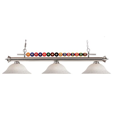 Shark 3-Light Billiard Light