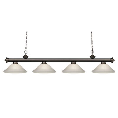 Zephyr Contemporary 4-Light Billiard Light