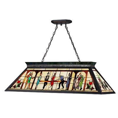 Chappelle 4-Light Billiard Light