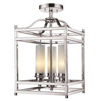 Humiston 3-Light Semi-Flush Mount