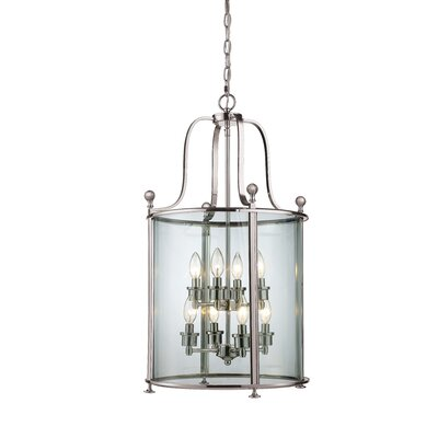 Lucah 8-Light Foyer Pendant