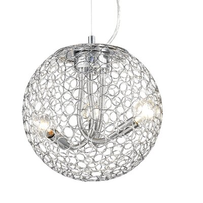 Saatchi 3-Light Globe Pendant