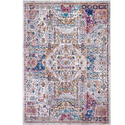 Parlin Ivory Area Rug Rug Size: Rectangle 53 x 69
