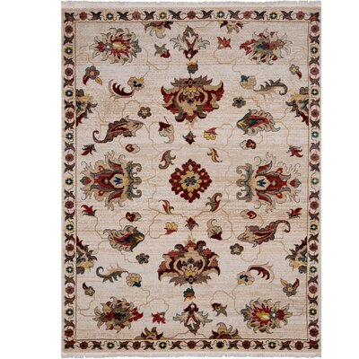 Ridgefield Cream Area Rug Rug Size: Rectangle 79 x 101