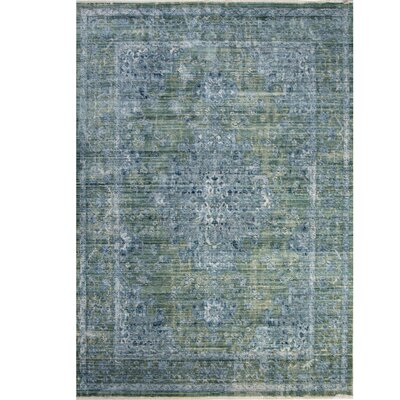 Artisan Dark Blue Area Rug Rug Size: Rectangle 710 x 102