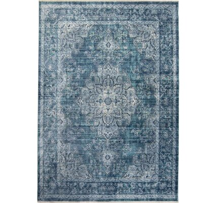 Artisan Blue Area Rug Rug Size: Rectangle 311 x 54
