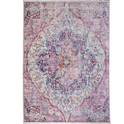 Artisan Machine Woven Rouge Area Rug Rug Size: Runner 22 x 71