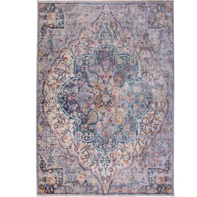 Artisan Blue/Gray Area Rug Rug Size: Rectangle 311 x 54