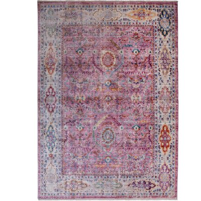 Artisan Rouge Area Rug Rug Size: Rectangle 710 x 102