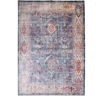 Artisan Blue/Gray Area Rug Rug Size: Rectangle 710 x 102