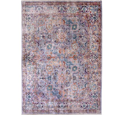 Artisan Blue/Pink Area Rug Rug Size: Rectangle 311 x 54