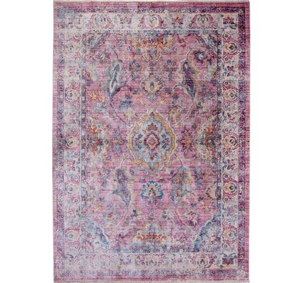 Artisan Rouge Area Rug Rug Size: Rectangle 311 x 54