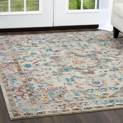 Parlin Diamond Gray Area Rug Rug Size: Rectangle 53 x 69