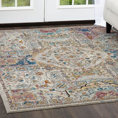 Parlin  Area Rug Rug Size: Rectangle 92 x 125