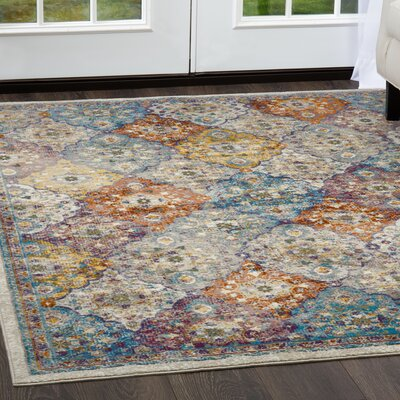 Parlin Patchwork  Area Rug Rug Size: Rectangle 92 x 125