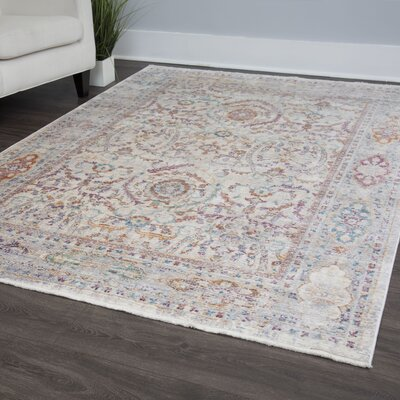 Artisan Ivory/Beige Area Rug Rug Size: Rectangle 53 x 79