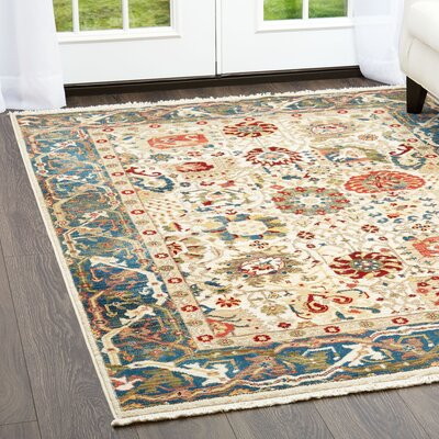 Ridgefield Brown Area Rug Rug Size: Rectangle 79 x 101