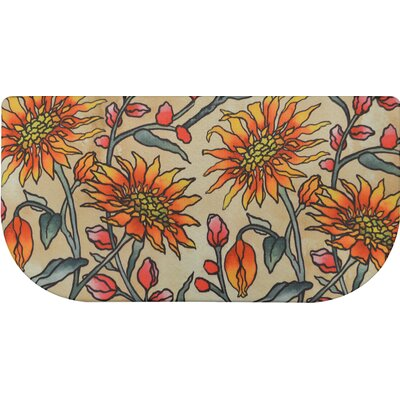 Cook N Comfort Daisies Slice Kitchen Mat