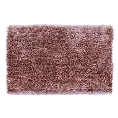 Radiance Chenille Noodle Bath Rug Color: Fawn