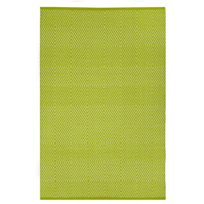 Zen Hand Woven Green Indoor/Outdoor Area Rug Rug Size: Rectangle 8 x 10