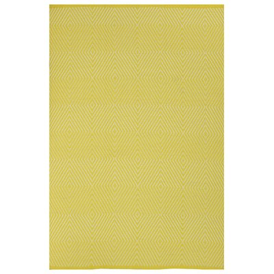 Zen Yellow Indoor/Outdoor Area Rug Rug Size: 3 x 5