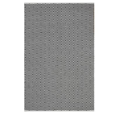 Criswell Black Area Rug Rug Size: 8 x 10