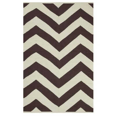 Metro Lexington Coffee/Beige Rug Rug Size: 3 x 5