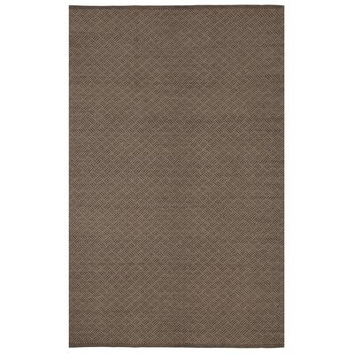 Zen Karma Cotton Brown Area Rug Rug Size: 8 x 10