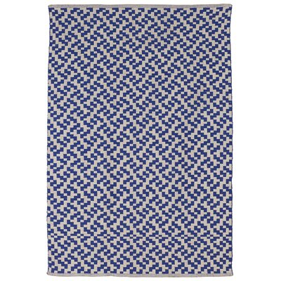 Zen Mudra Cotton Indigo Area Rug Rug Size: 5 x 8