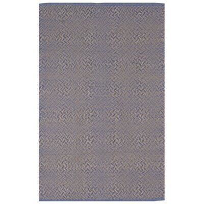Zen Indoor Karma Cotton Gray Area Rug Rug Size: 5 x 8