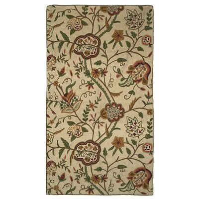 Heritage Sherwood Area Rug Rug Size: Rectangle 4 x 6