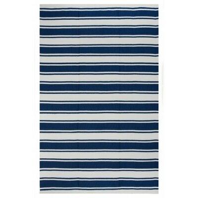 Lucky Hand Woven Blue Indoor/Outdoor Area Rug