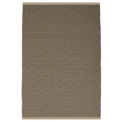 Estate Veria Hand-Woven Brown Indoor/Outdoor Area Rug Rug Size: 5 x 8
