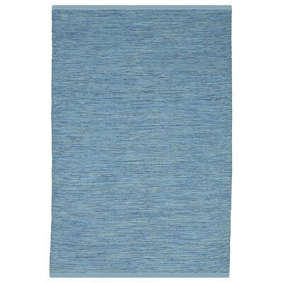 Estate Cancun Hand-Woven Blue Indoor/Outdoor Area Rug Rug Size: Rectangle 4 x 6
