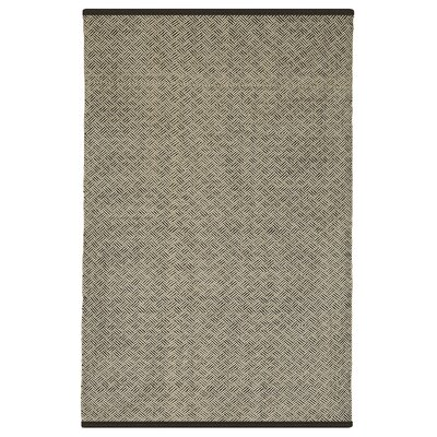 Estate Karma Hand-Woven Brown/Almond Indoor/Outdoor Area Rug Rug Size: Rectangle 6 x 9